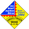 Internationale Briefmarkenbörse Sindelfingen 2004